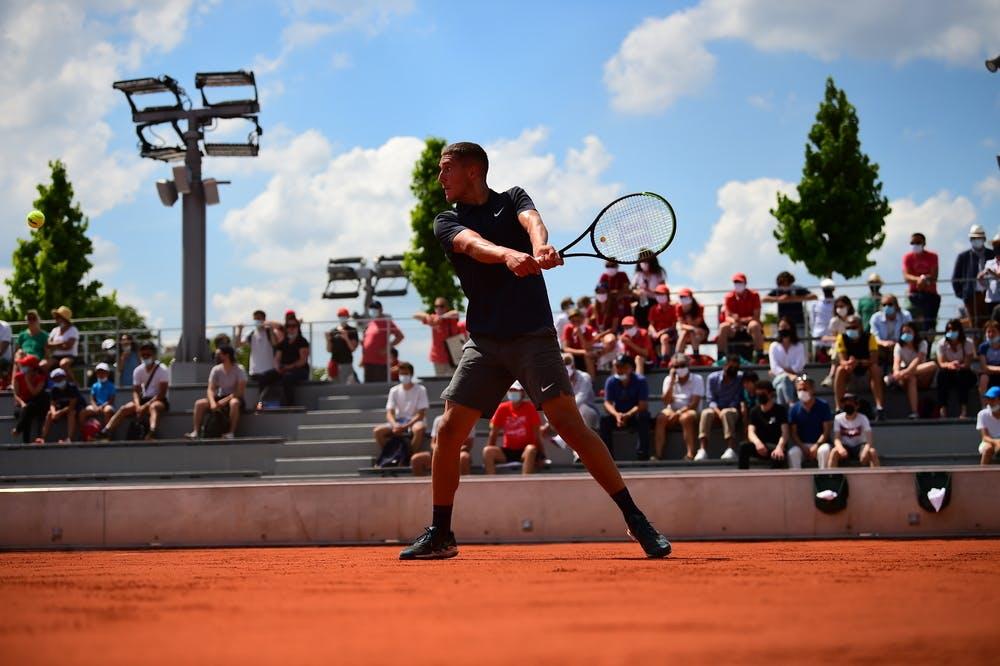 Sean Cuenin, Roland Garros 2021, boys' singles third round