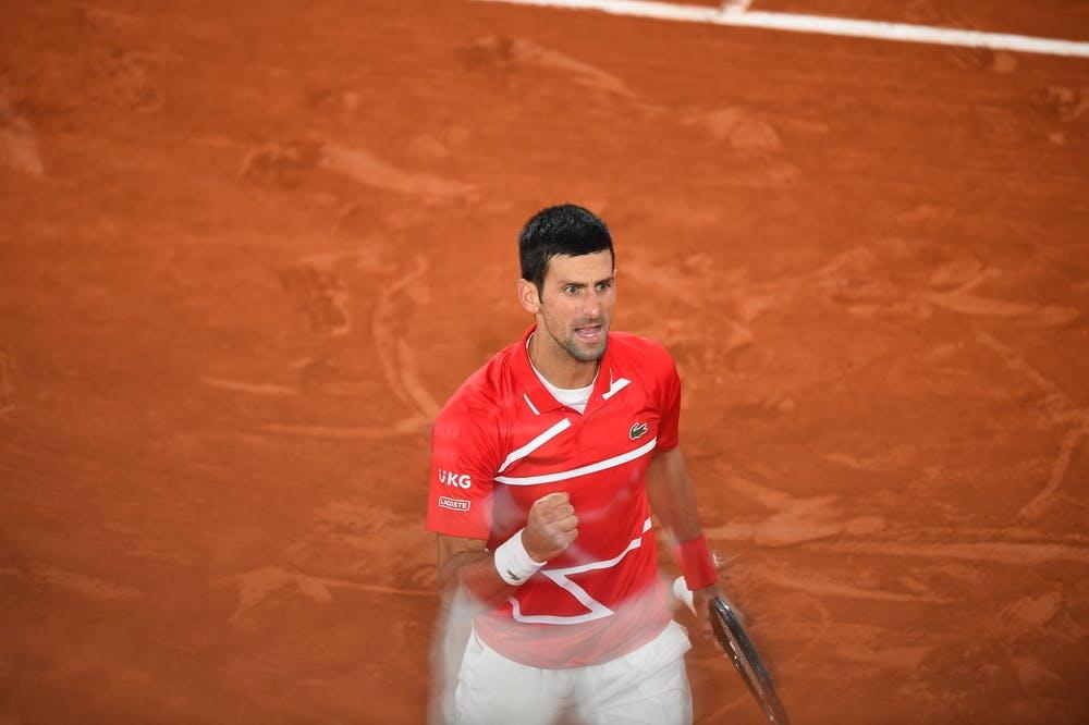 Novak Djokovic Roland-Garros 2020