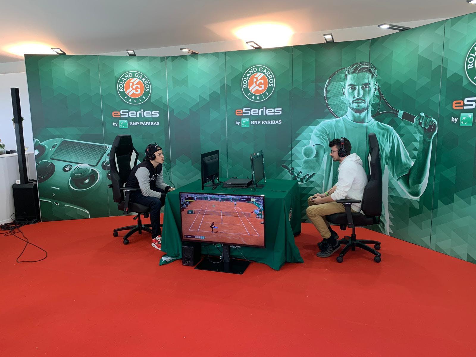 Roland-Garros eSeries by BNP Paribas - Thibaut Karmaly - Marvin Nonone - finale française