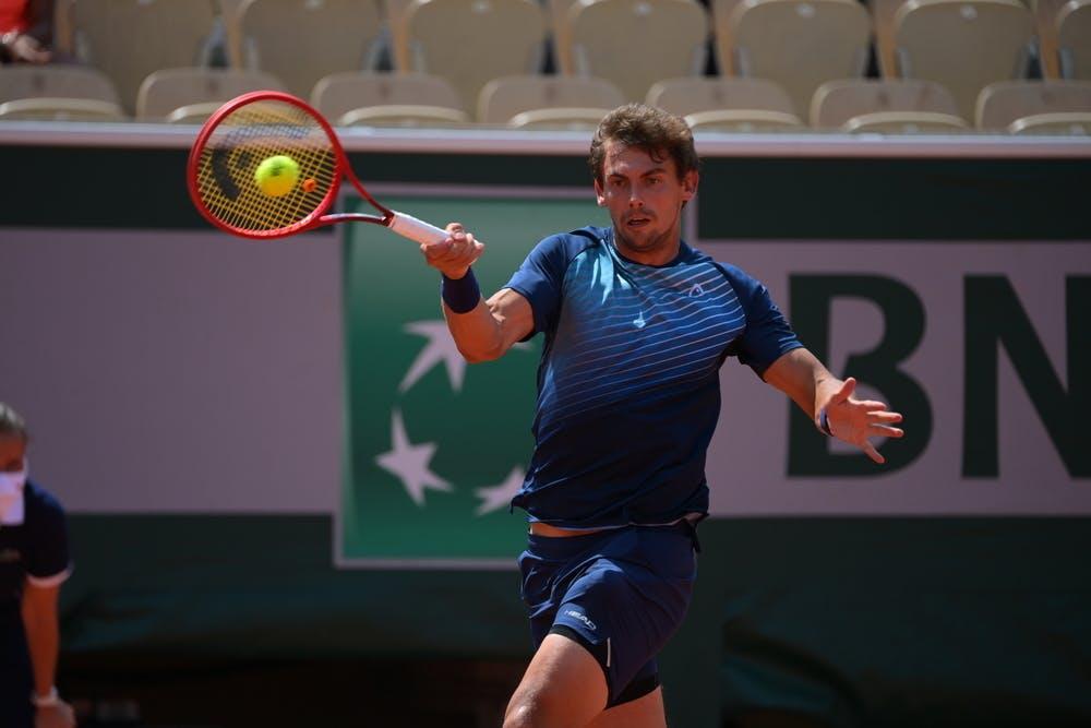 Henri Laaksonen, Roland Garros 2021, second round