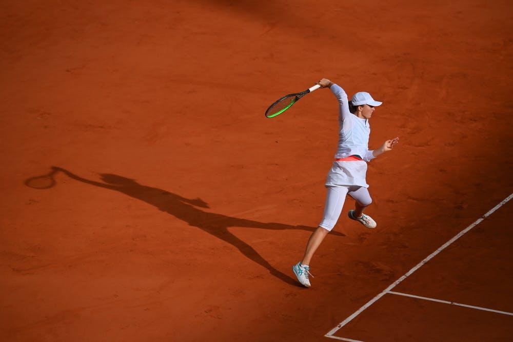 Iga Swiatek, Roland Garros 2020, semi-finals