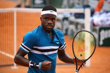 Frances Tiafoe at Roland-Garros 2018