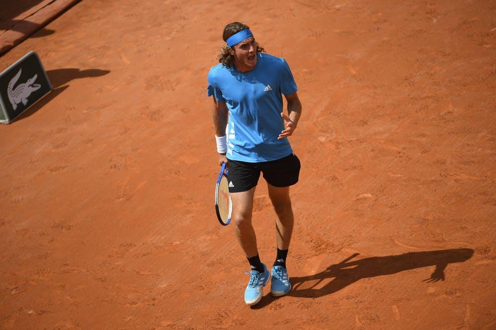 Stefanos Tsitsipas - Roland-Garros 2019 - 2e tour
