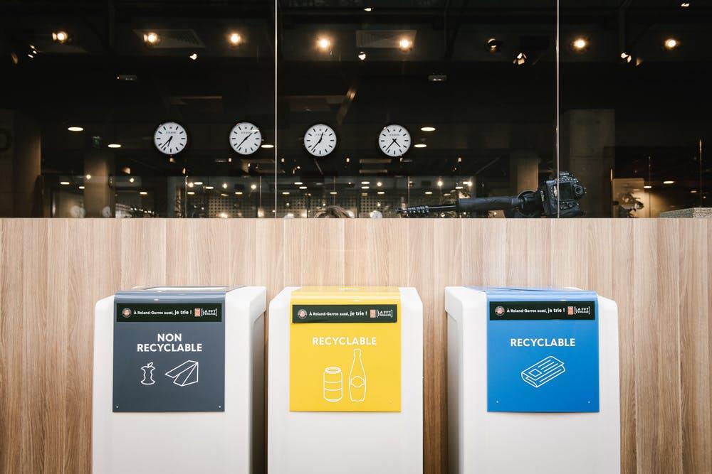 Tri recyclage Roland-Garros