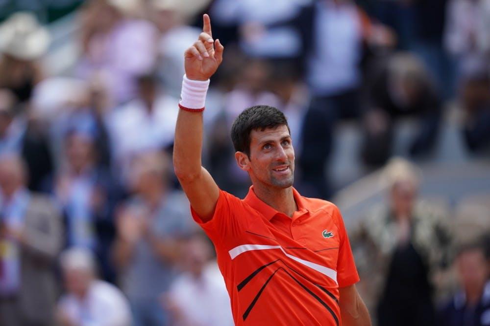 Novak Djokovic - Roland-Garros 2019 - quart de finale