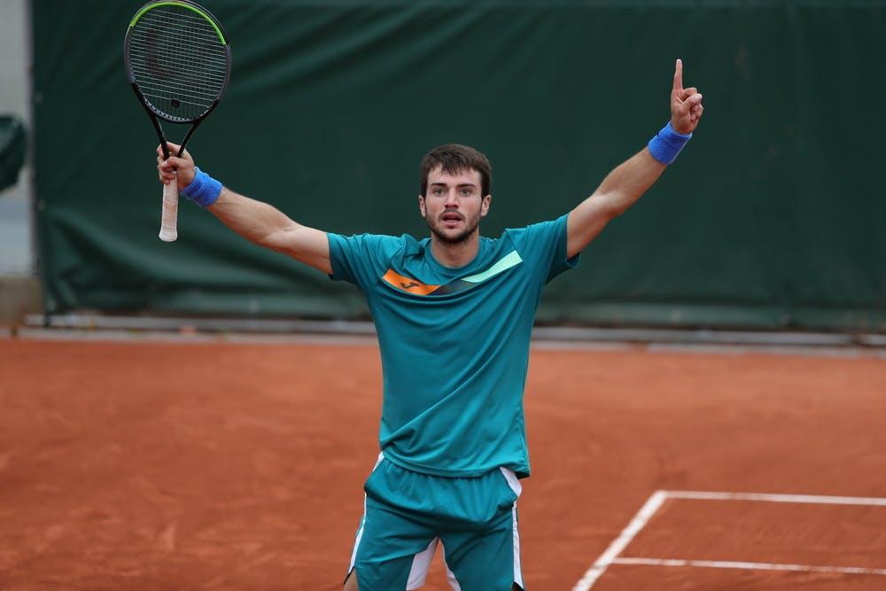 Pedro Martinez, Roland Garros 2020, first round