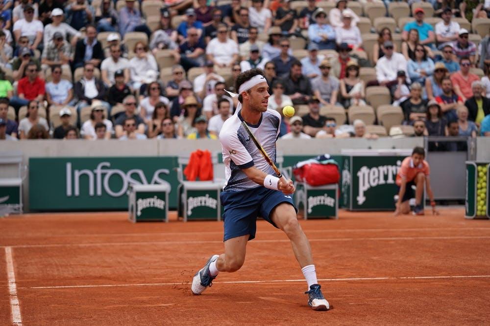 Marco Cecchinato Nicolas Mahut first round 2019