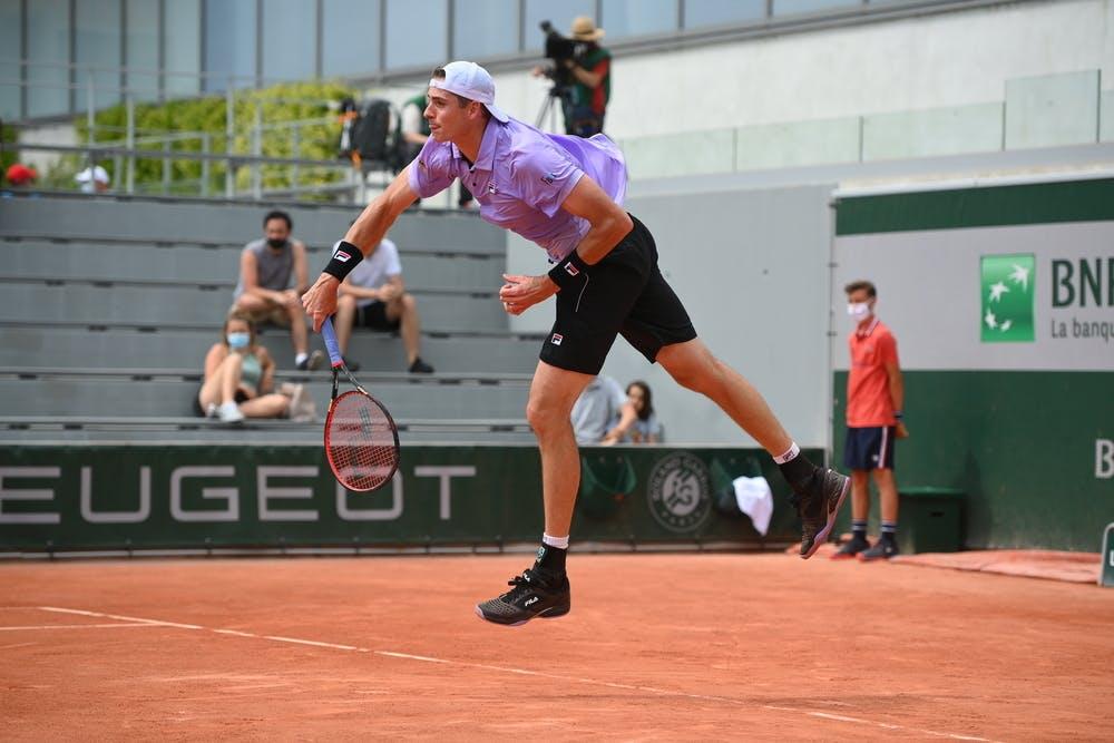 John Isner, Roland Garros 2021, second round
