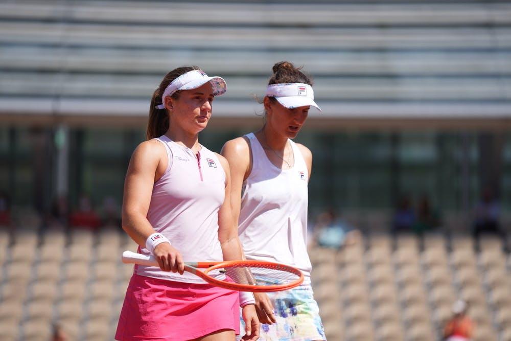 Nadia Podoroska, Irina-Camelia Begu, Roland Garros 2021, women's doubles quarter-finals