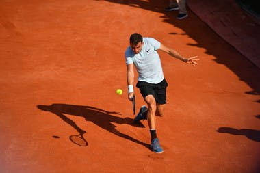 Grigor Dimitrov, Roland Garros 2018, Simple Messieurs, 2eme Tour