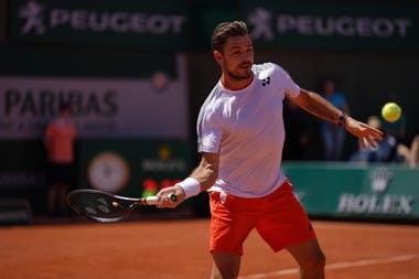tan Wawrinka - Roland-Garros 2019 - 3e tour.