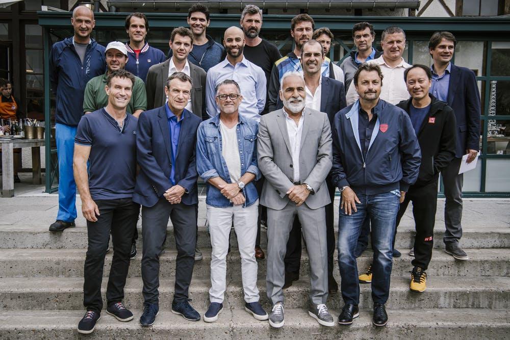 Legends photo Roland Garros 2019