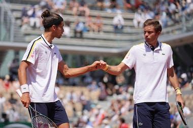 Pierre-Hugues Herbert, Nicolas Mahut, Roland-Garros 2021, semi-final