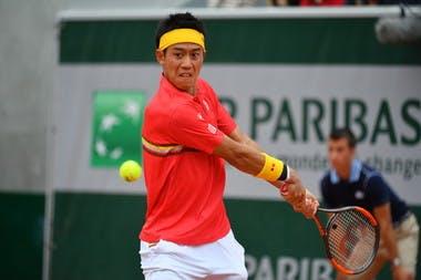 Roland-Garros 2018, Kei Nishikori, 3e tour, 3rd round