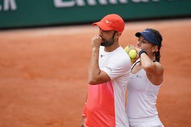 Juan Sebastian Cabal, Giuliana Olmos, Roland-Garros 2021, mixed doubles quarter-final