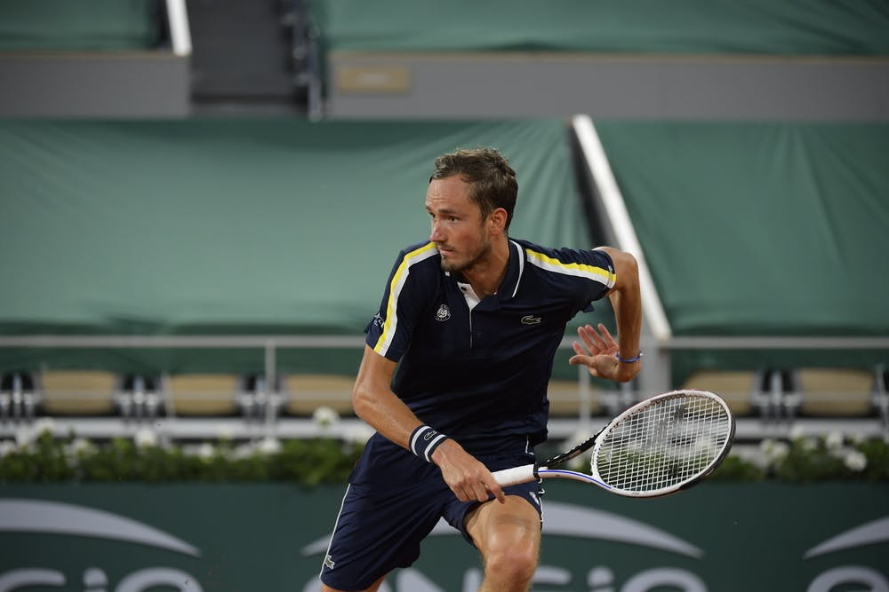 Daniil Medvedev Roland-Garros Lacoste