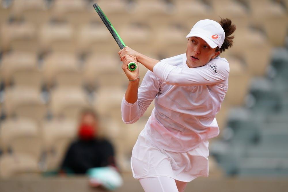 Focused Swiatek Is Up For Halep Challenge Roland Garros The 2020 Roland Garros Tournament Official Site