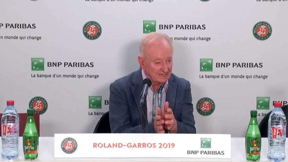Rod Laver - 2019- Conférence de presse