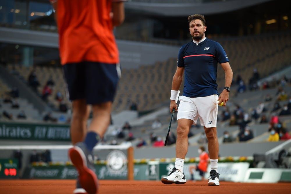 Stan Wawrinka, Roland-Garros 2020, 1er tour