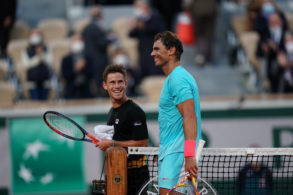 Rafael Nadal et Diego Schwartzman, Roland-Garros 2020