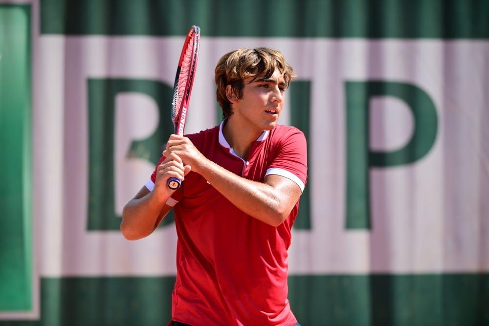 Daniel Merida Aguilar, Roland-Garros 2021, boys singles first round