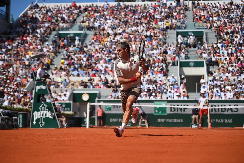 Roger Federer third round roland garros 2019