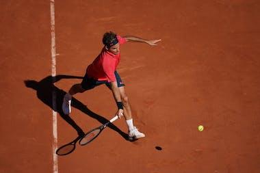 Roger Federer Roland-Garros 2021