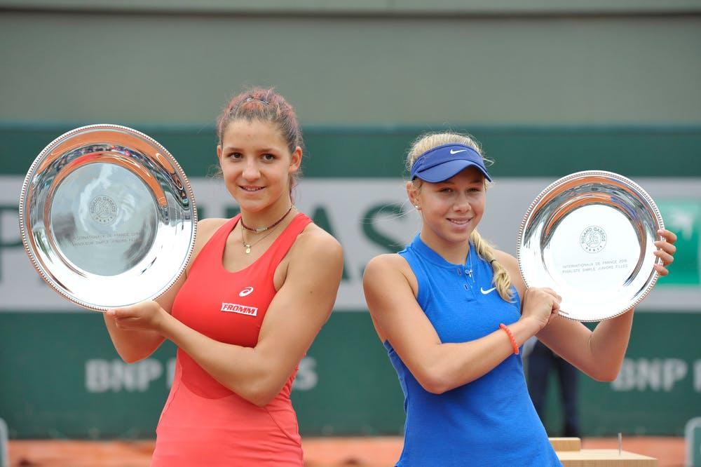 Rebeka Masarova Amanda Anisimova finale Roland-Garros juniors filles 2016