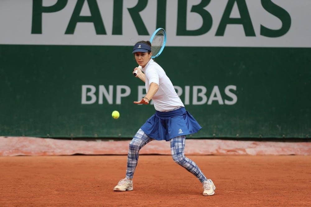 Tsvetana Pironkova, Roland Garros 2020, first round