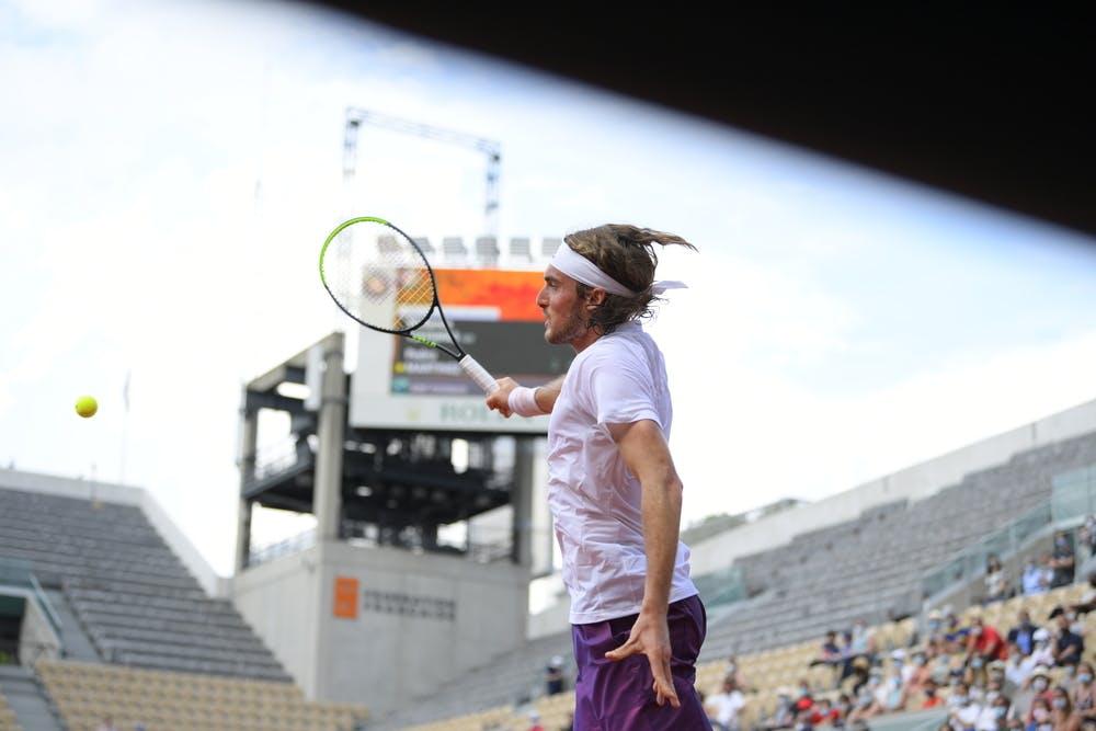 Stefanos Tsitsipas, Roland-Garros 2021 second round