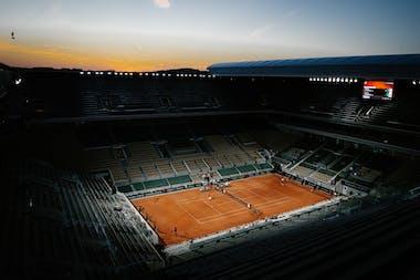 Roland-Garros Sessions de soirée Court Nuit