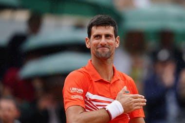 Novak Djokovic Roland Garros 2019