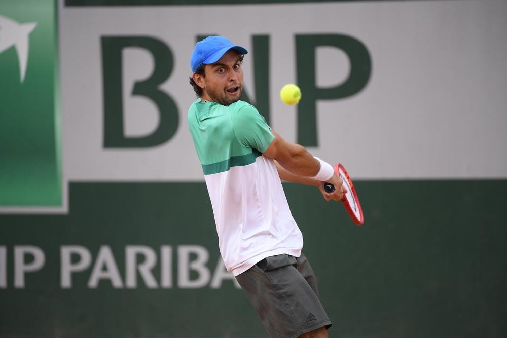 Aslan Karatsev, Roland-Garros 2020, qualifying second round.