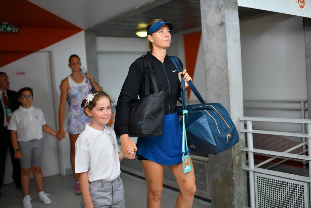 Roland-Garros 2018, 3e tour, Maria Sharapova