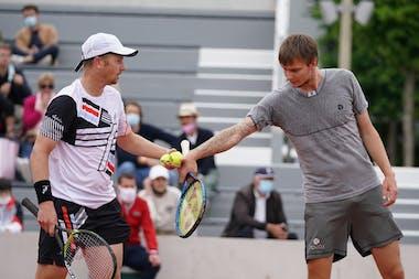 Alexander Bublik, Andrey Golubev, Roland Garros 2021, doubles semis