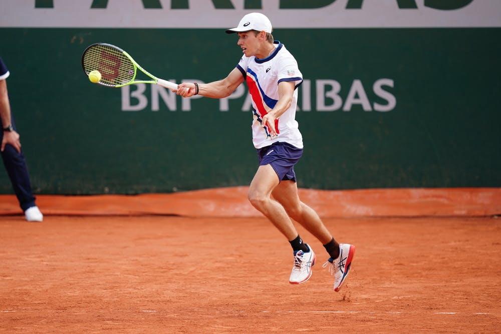 Alex de Minaur, Roland-Garros 2021