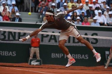 Roger Federer - Roland-Garros 2019 - quart de finale