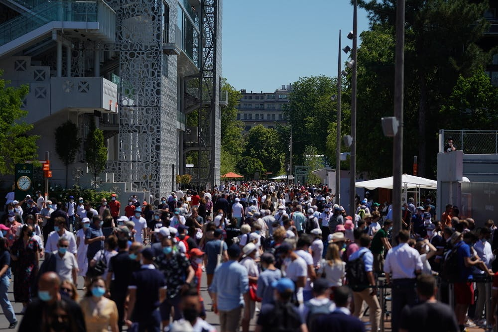 Roland Garros 2021, fans