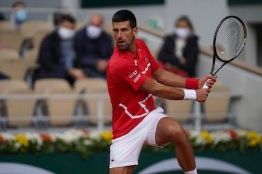 Nova Djokovic, Roland-Garros 2020, 2e tour