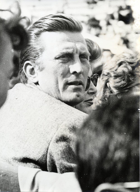 Kirk Douglas, Roland-Garros 1953.