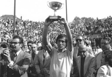 Ilie Nastase Roland-Garros 1973.