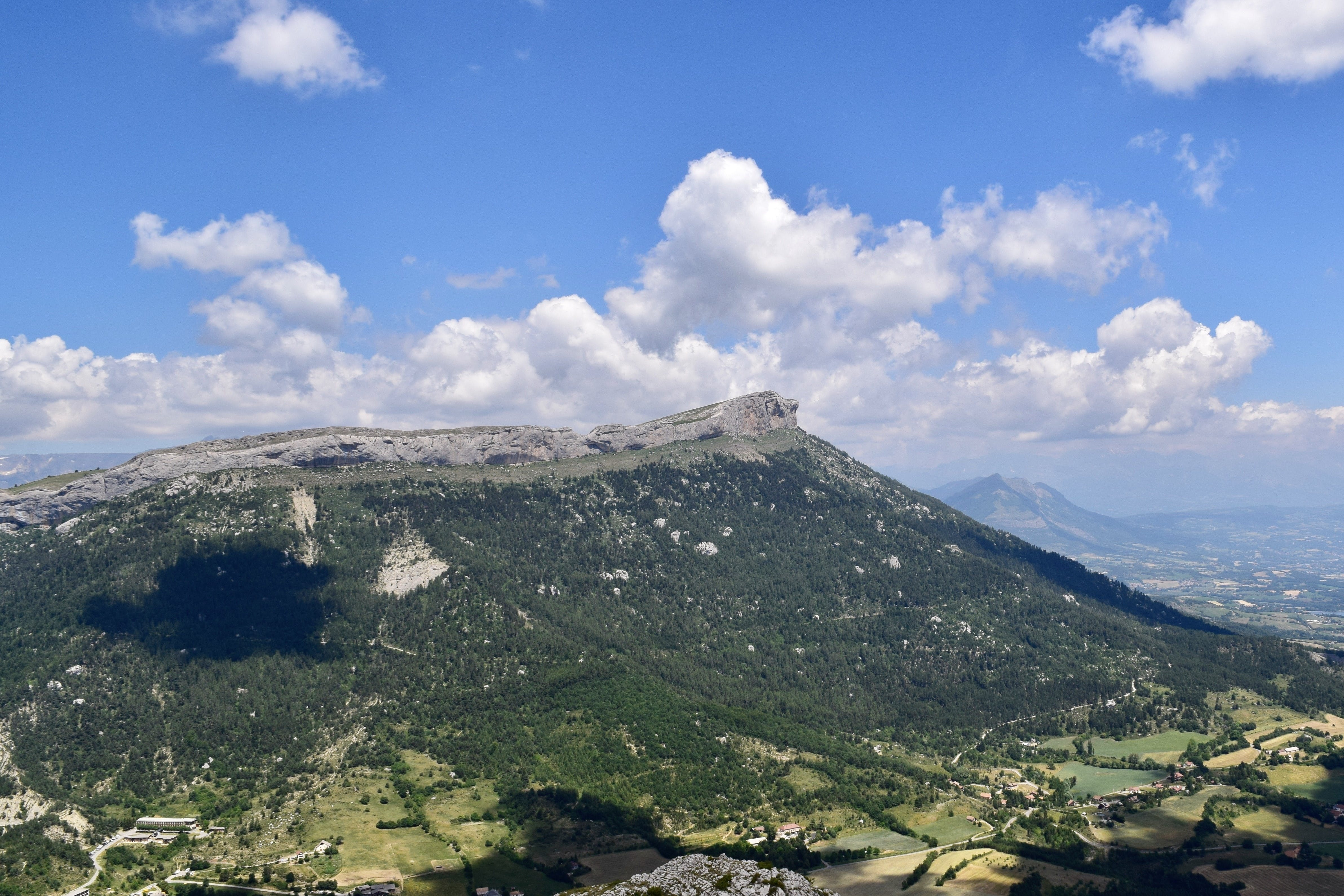 View of the Céüse mountain