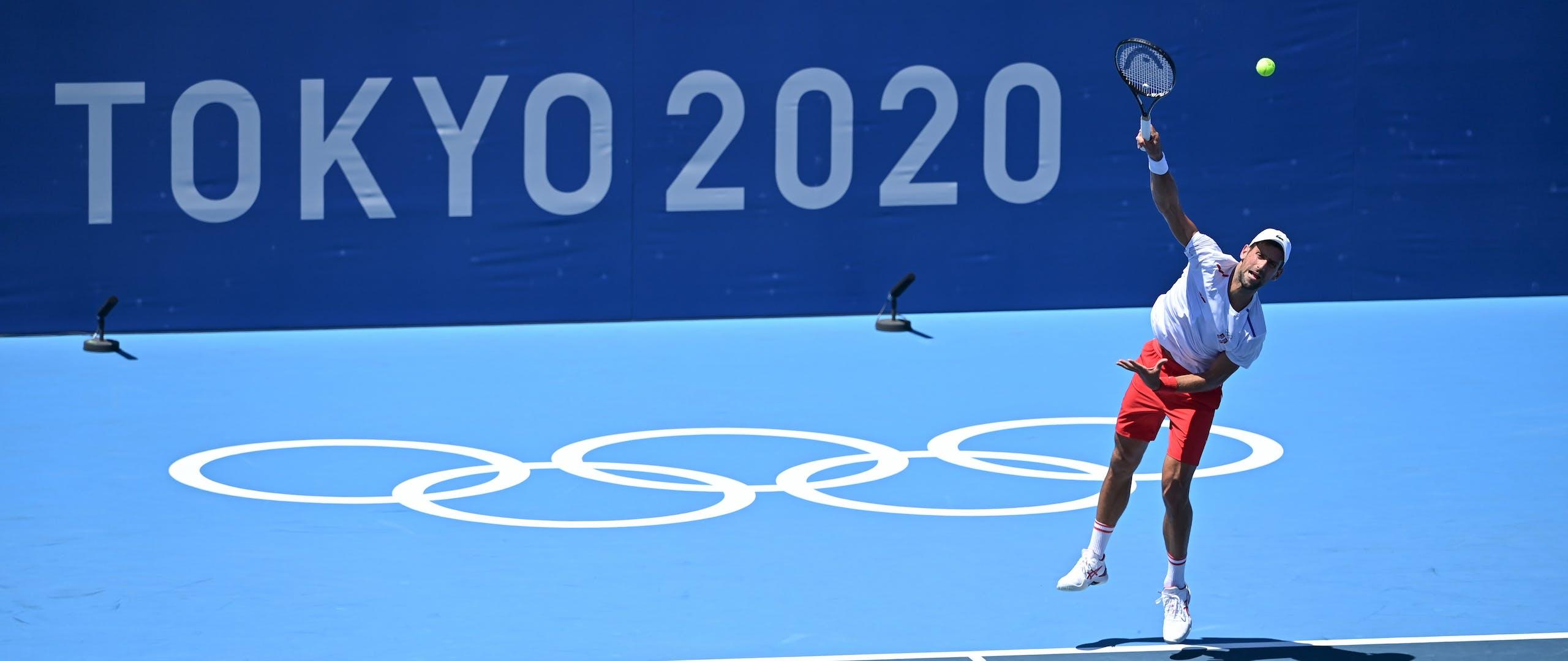 Novak Djokovic / Jeux Olympiques Tokyo 2020