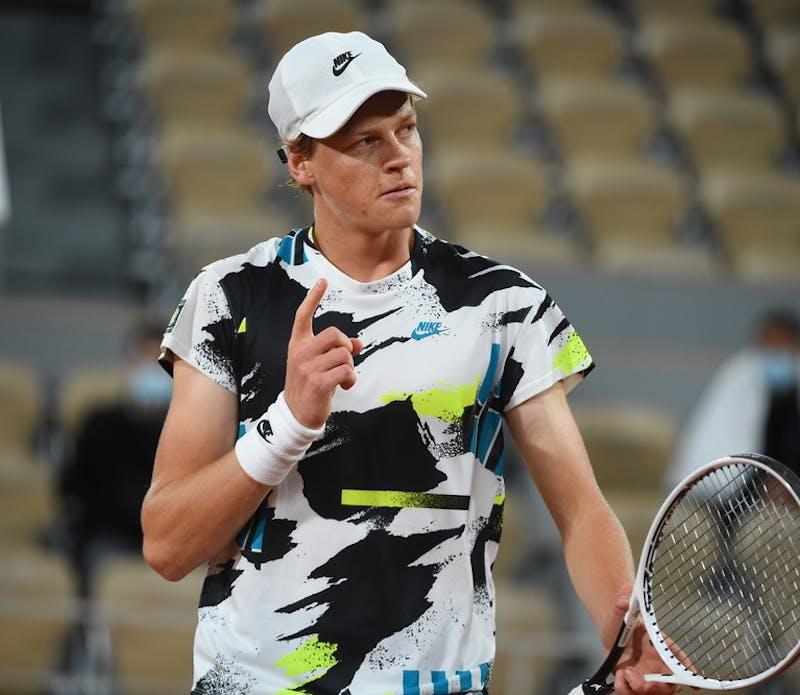 Jannik Sinner, Roland Garros 2020, first round