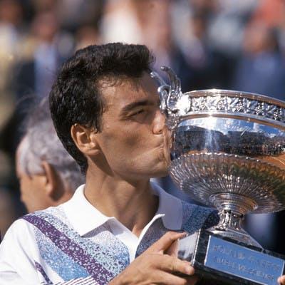 Sergi Bruguera Roland-Garros 1994 champion.