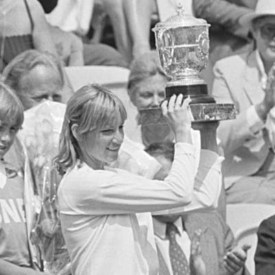 Chris Evert Roland-Garros 1980 French Open.