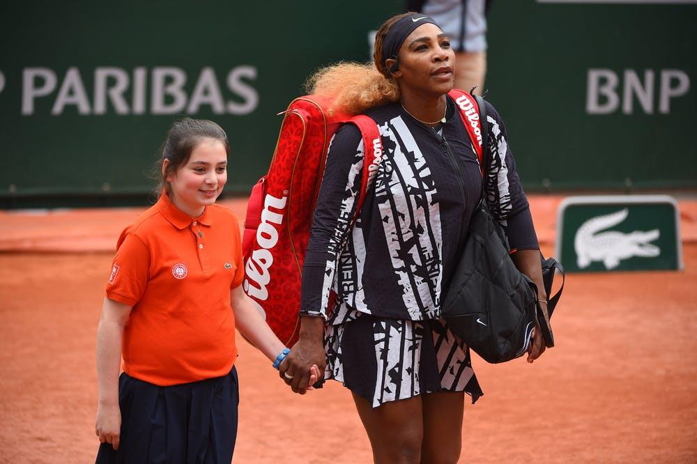 Entrée de rêve avec Serena Williams Roland-Garros 2019