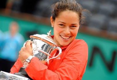 Ana Ivanovic Roland-Garros 2008 champ French Open.
