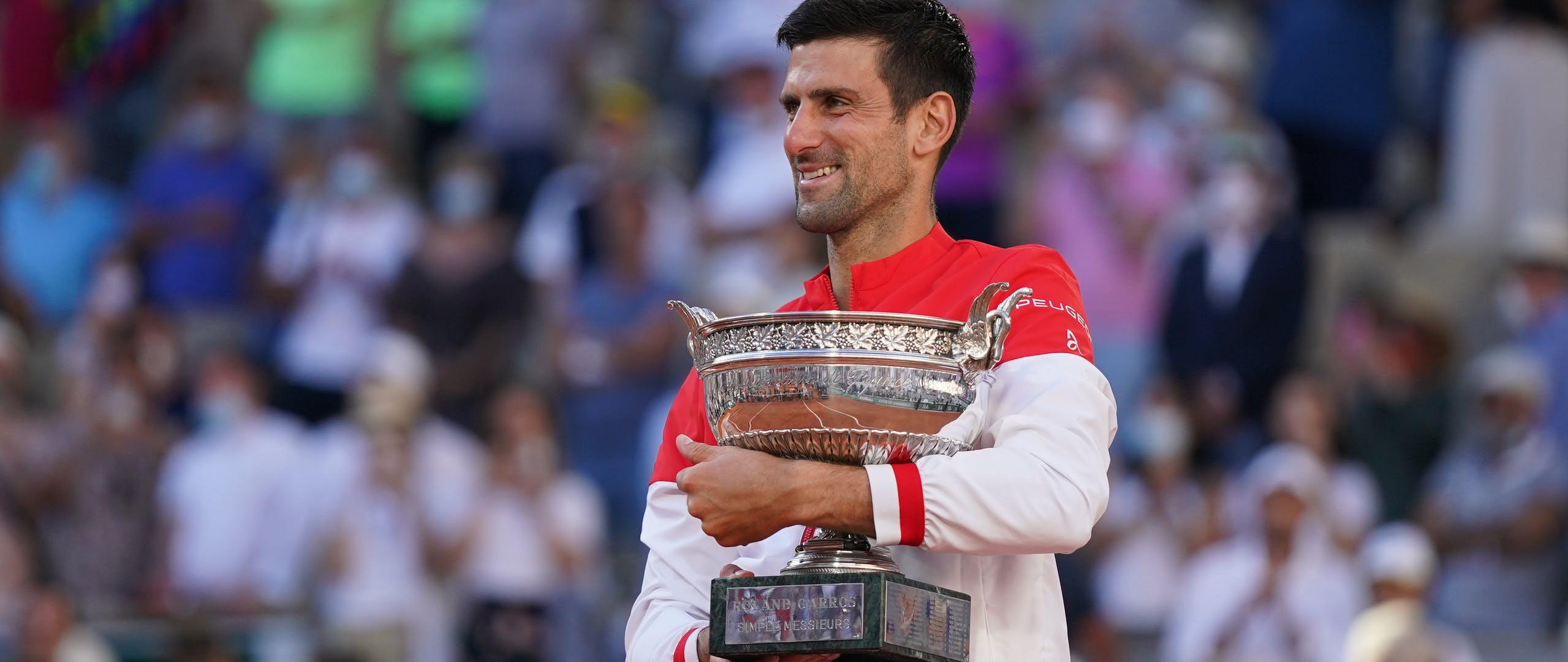 Novak Djokovic, Roland Garros 2021 trophy final