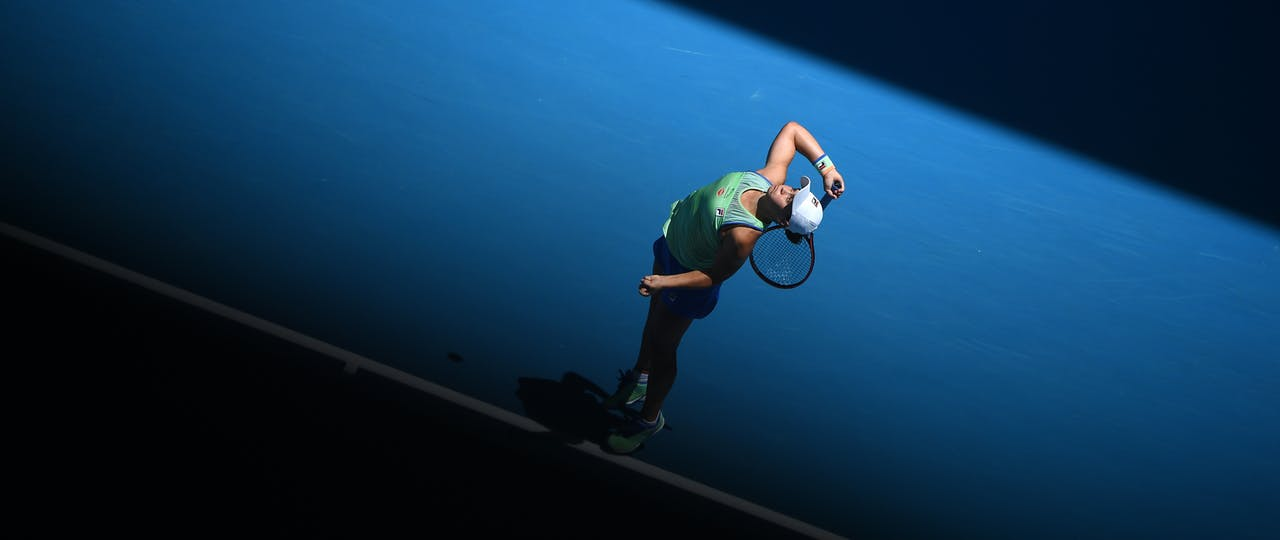 Ashleigh Barty Australian Open 2020